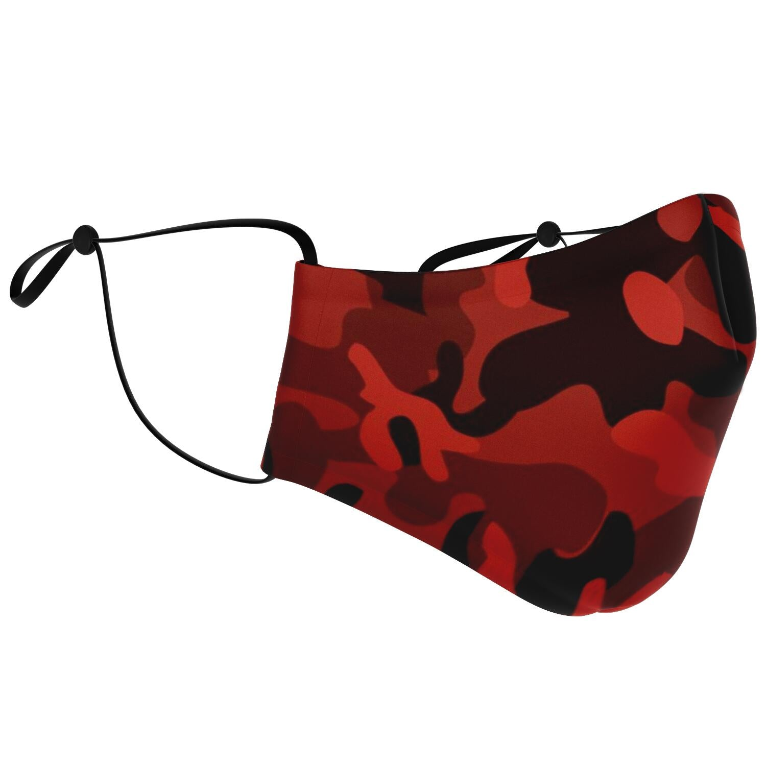 Red Camo Face Mask - Fuckinuts