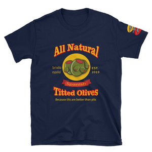 All Natural Spanish Titted Olives / Because Tits Are Better Than Pits