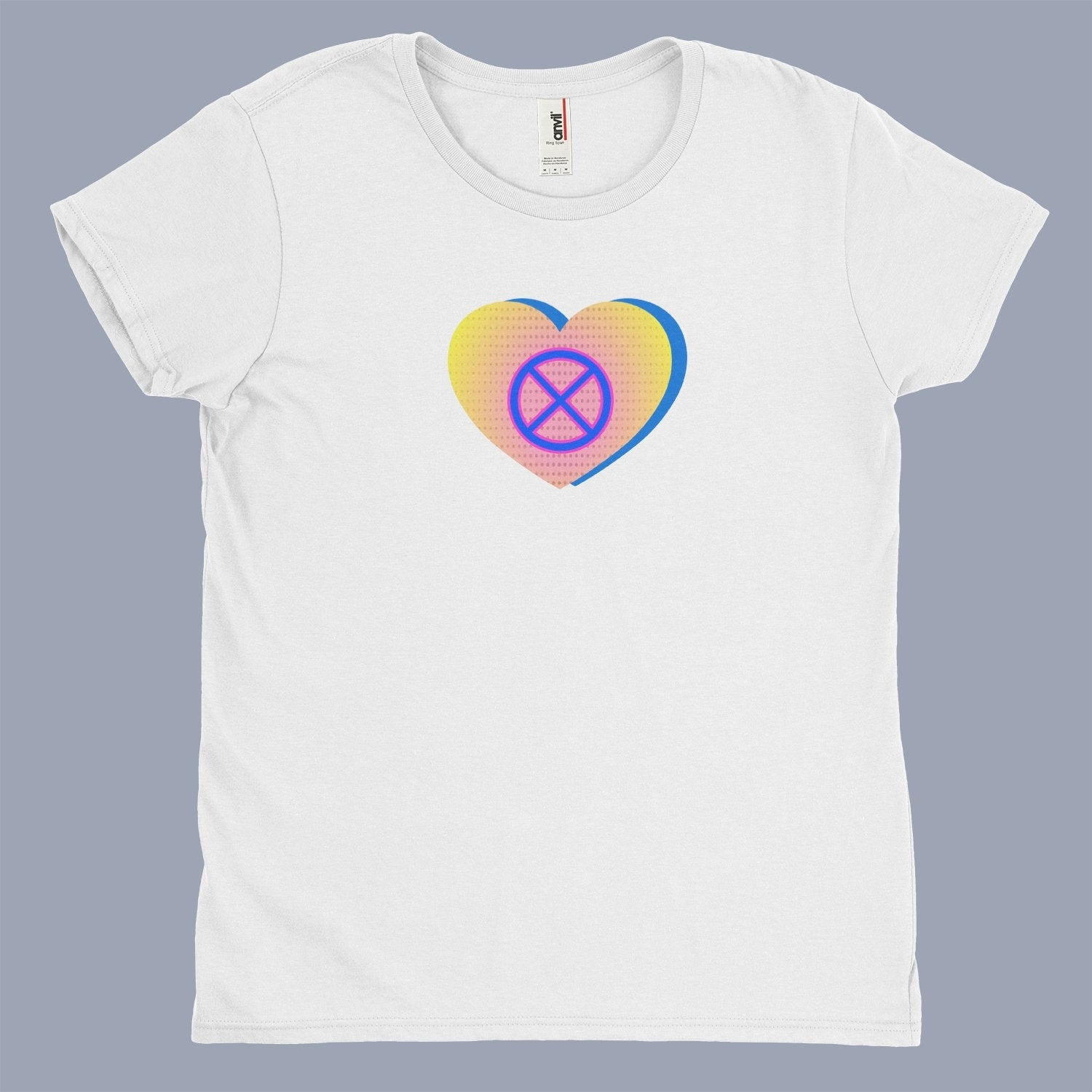 Heart & Wheel Womens Soft T-Shirt - Fuckinuts