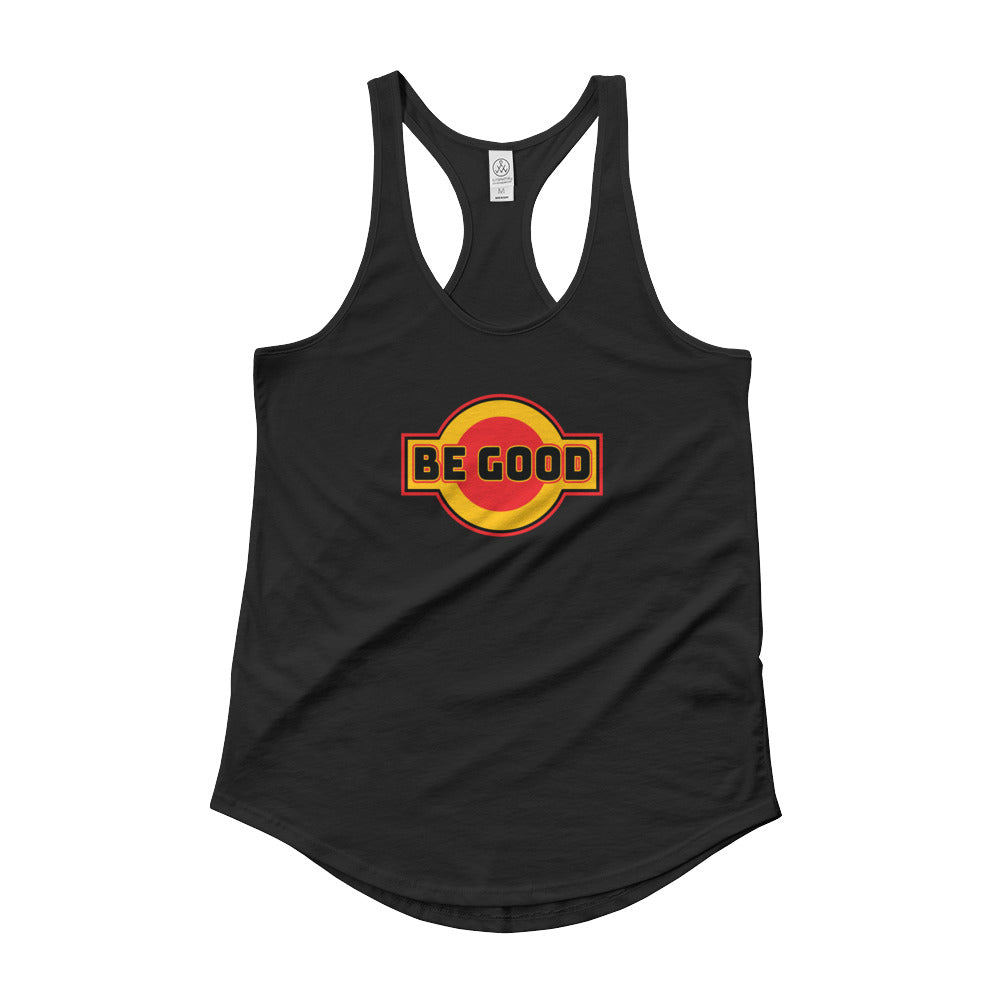 Be Good Women's Shirt-tail Racer-back Tank - Fuckinuts
