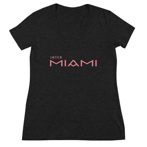 Inter Miami Women's Deep V-neck Tee - Fuckinuts