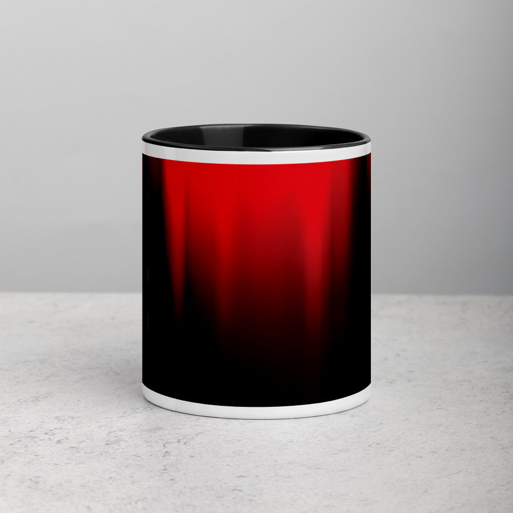 Red Black FN Mug with Color Inside - Fuckinuts