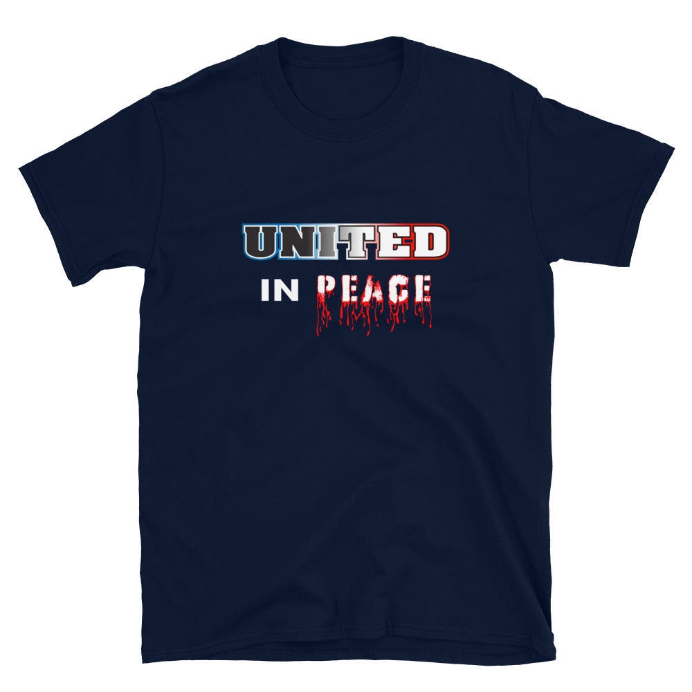 United In Peace Unisex T-Shirt - Fuckinuts