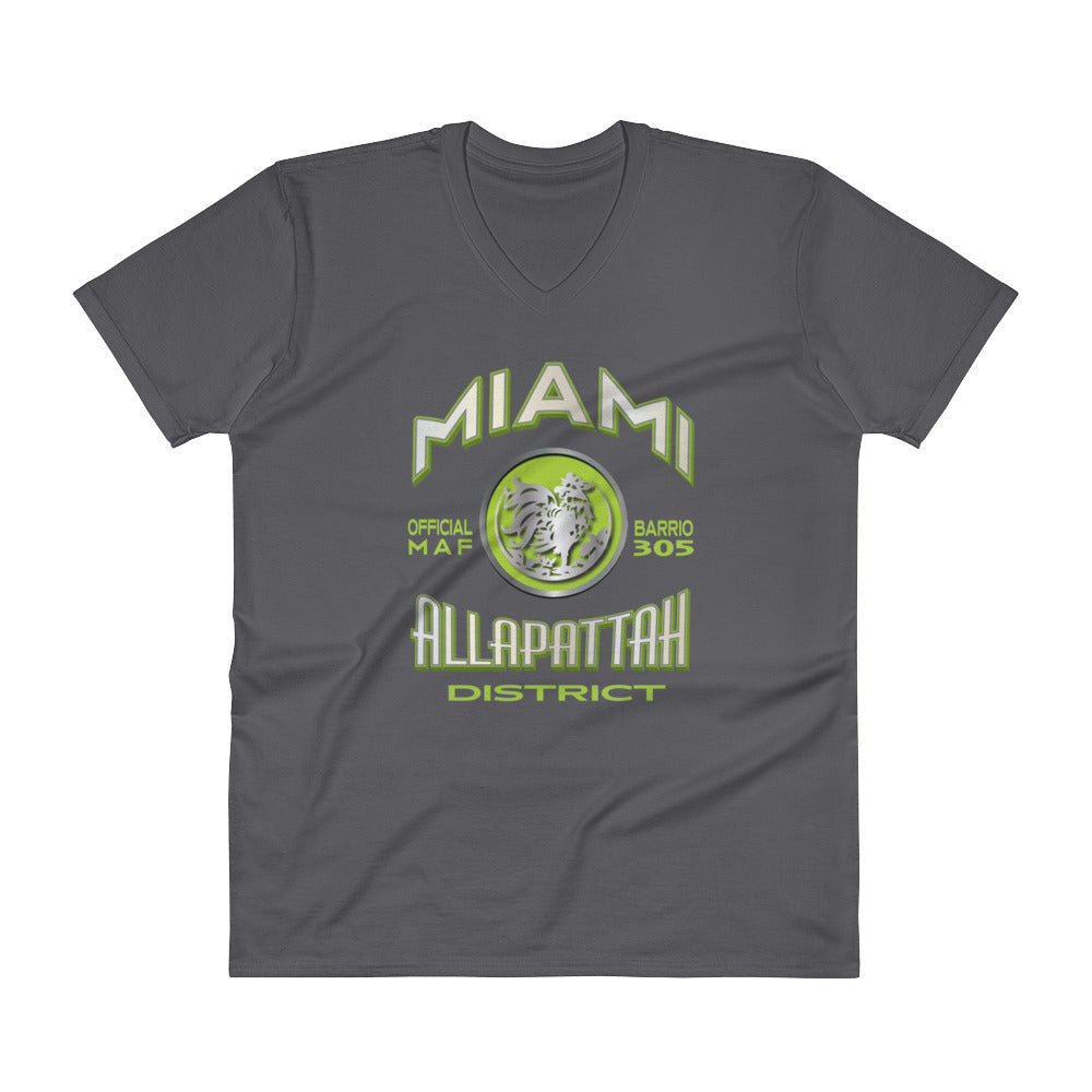 MAF Allapattah District V-Neck Tee - Fuckinuts