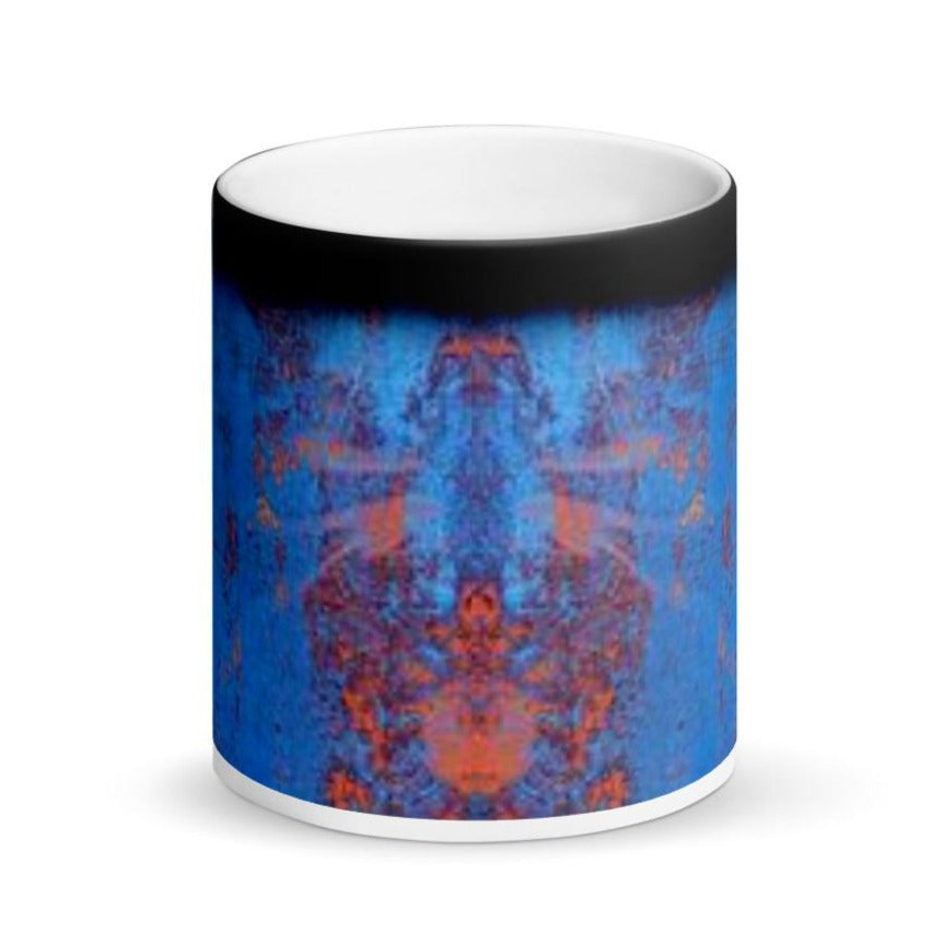 Blue Rust FN Matte Black Magic Mug - Fuckinuts