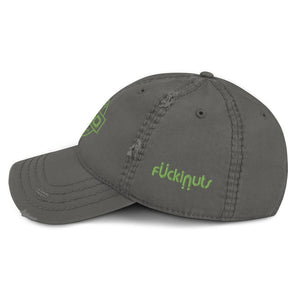 Hemp 420 Distressed Dad Hat - Fuckinuts