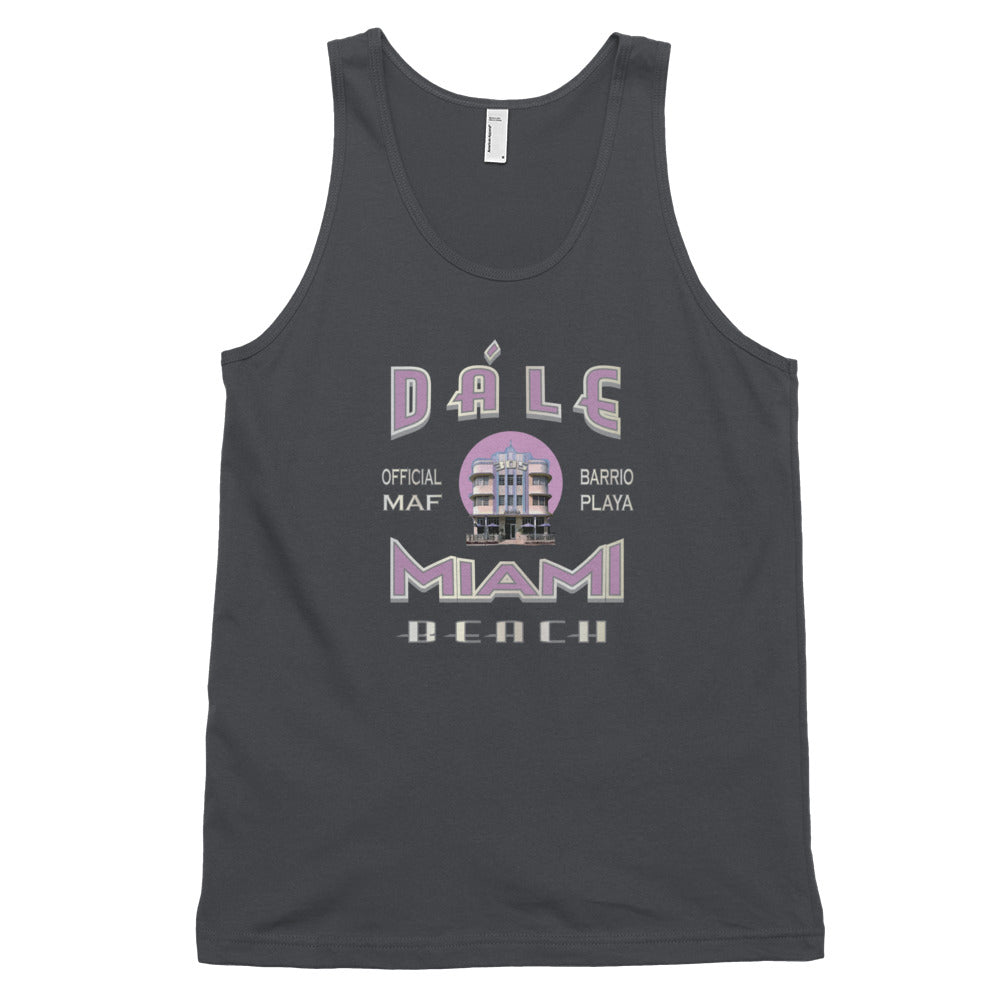 Miami MAF Dale Miami Beach Unisex Tank Top - Fuckinuts