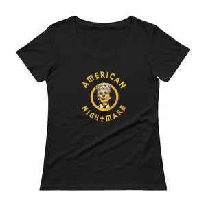American Nightmare Women's Scoop-neck T-Shirt - Fuckinuts