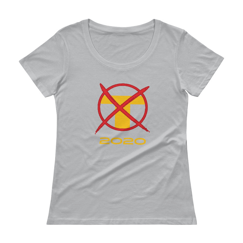 X T 2020 Women's Scoop-neck T-Shirt - Fuckinuts
