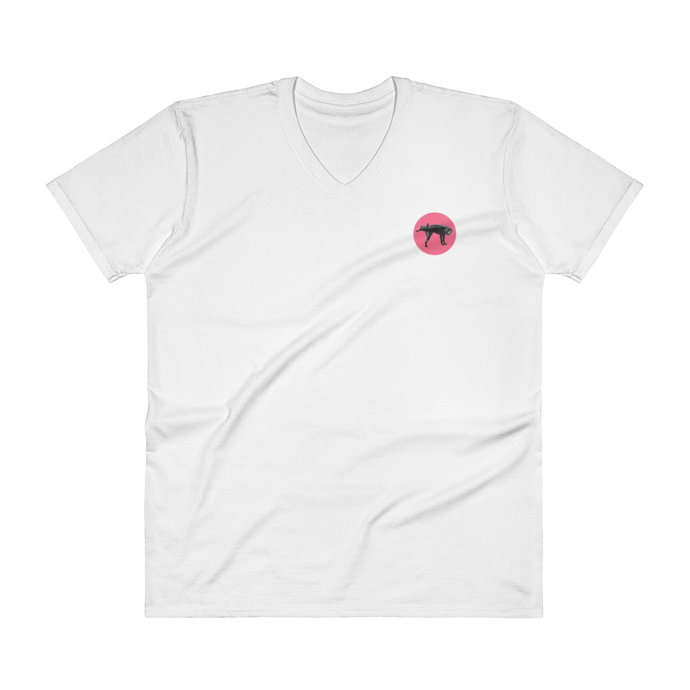 Miami Nice Dog Premium V-Neck - Fuckinuts