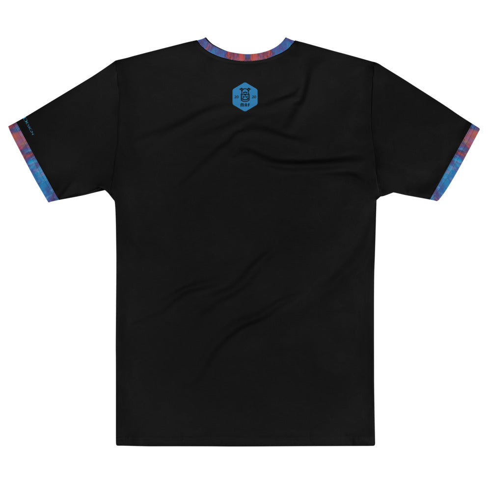 DZart Design MAF Blue Rust Men's Crew Neck - Fuckinuts