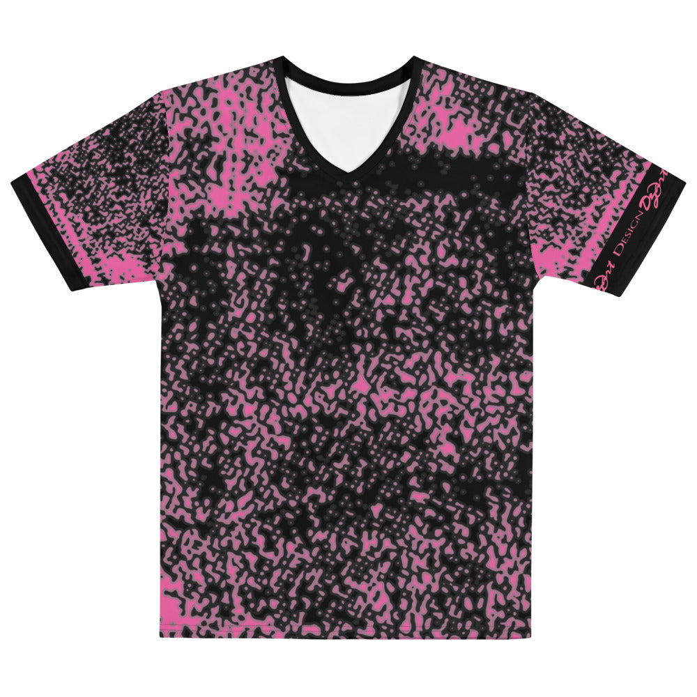 DZart Design MAF IMCF Pink Men's V-Neck - Fuckinuts