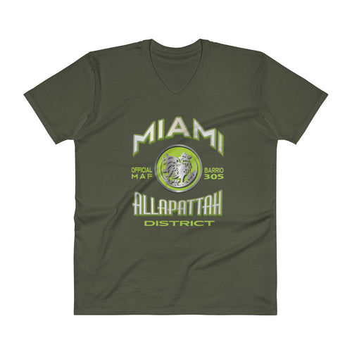 MAF Allapattah District V-Neck Tee