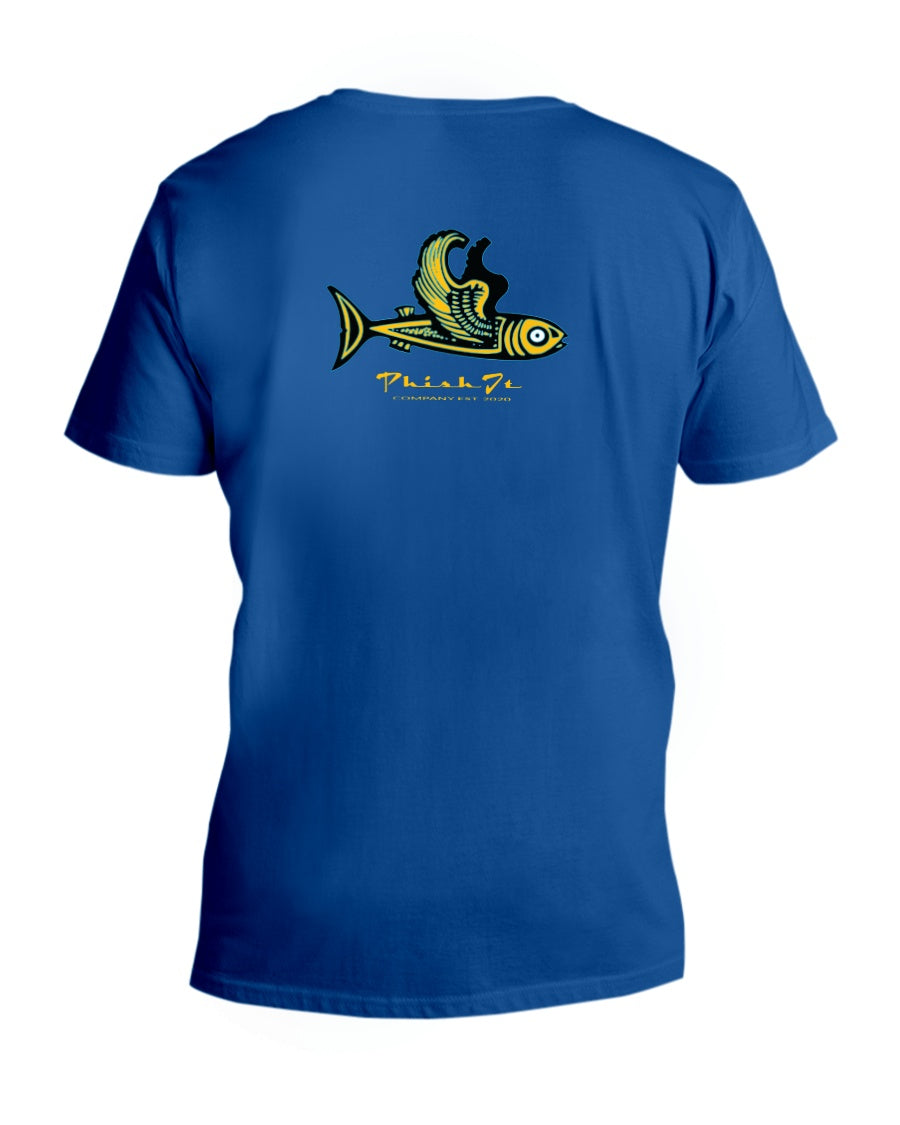 Phish It Ladies HD V Neck T - Fuckinuts