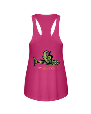 Phish It Ladies Racerback Tank - Fuckinuts