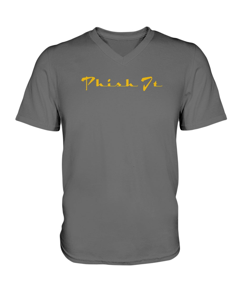 Phish It V-Neck T-Shirt - Fuckinuts