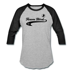 Team Bird #0 Baseball Tee - Fuckinuts