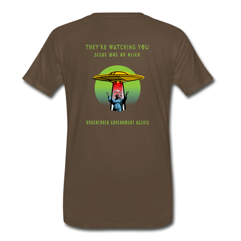 Jesus Was An Alien Tee - Fuckinuts