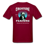 Creature Feature Show Season of the Witch - burgundy