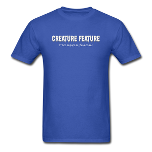 Creature Feature Show Season of the Witch - royal blue