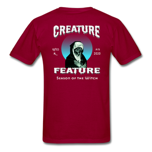 Creature Feature Show Season of the Witch - dark red