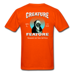 Creature Feature Show Season of the Witch - orange