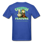 Creature Feature Show Revenge of the Mommy - royal blue