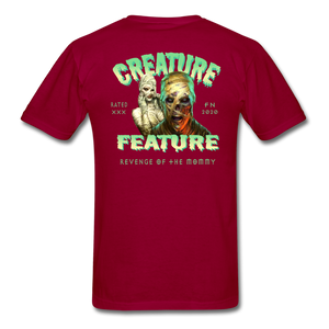 Creature Feature Show Revenge of the Mommy - dark red