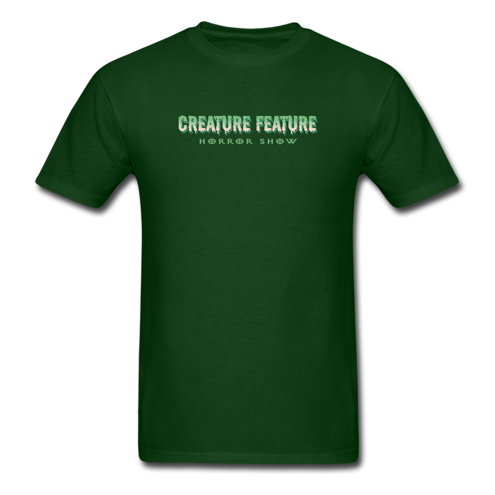 Creature Feature Show Revenge of the Mommy - forest green