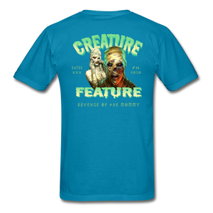 Creature Feature Show Revenge of the Mommy - turquoise