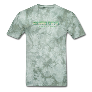 Creature Feature Show Revenge of the Mommy - military green tie dye