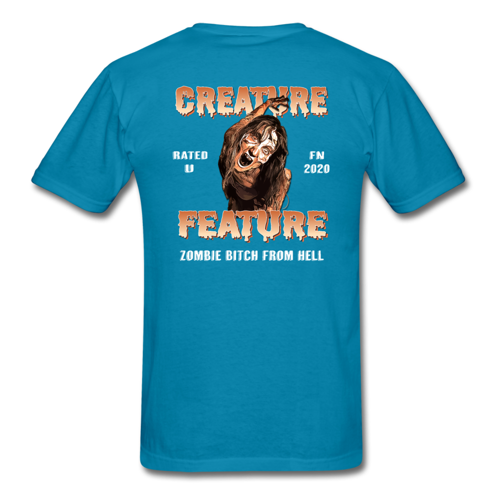 Creature Feature Show Zombie Bitch From Hell - turquoise