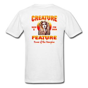 Creature Feature Show Curse of the Vampire - white