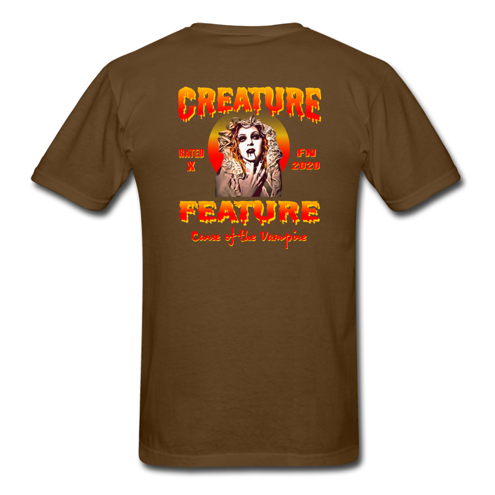 Creature Feature Show Curse of the Vampire - brown