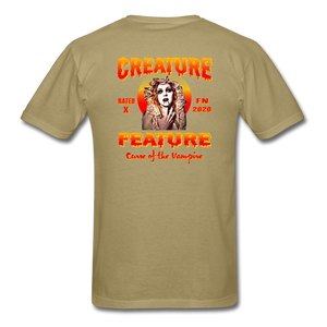 Creature Feature Show Curse of the Vampire - khaki