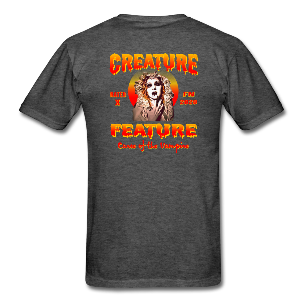 Creature Feature Show Curse of the Vampire - heather black