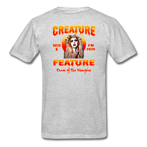 Creature Feature Show Curse of the Vampire - heather gray