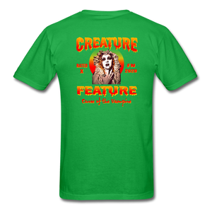 Creature Feature Show Curse of the Vampire - bright green