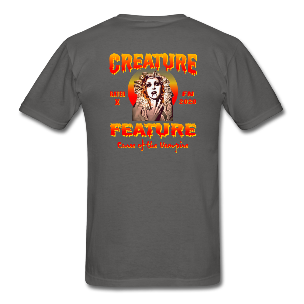 Creature Feature Show Curse of the Vampire - charcoal