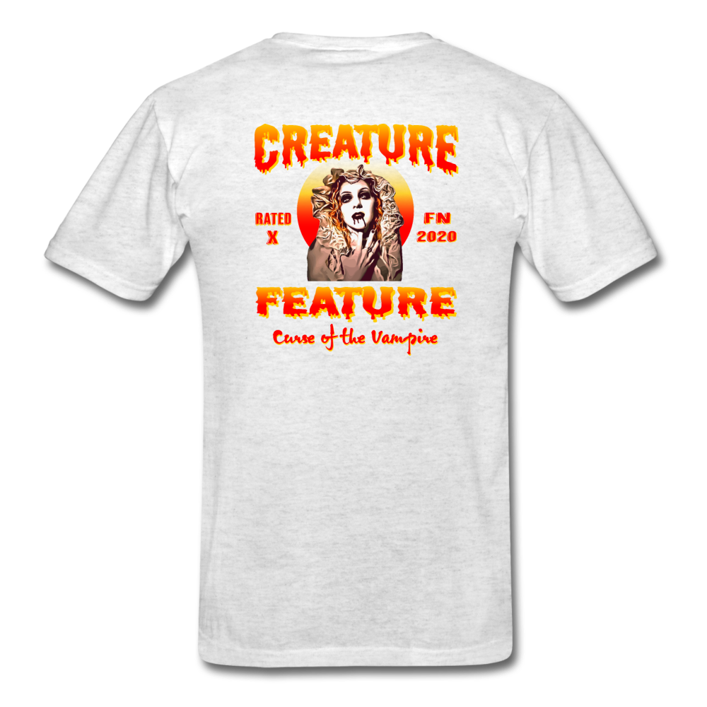Creature Feature Show Curse of the Vampire - light heather gray