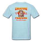 Creature Feature Show Curse of the Vampire - powder blue