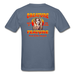 Creature Feature Show Curse of the Vampire - denim