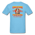 Creature Feature Show Curse of the Vampire - aquatic blue