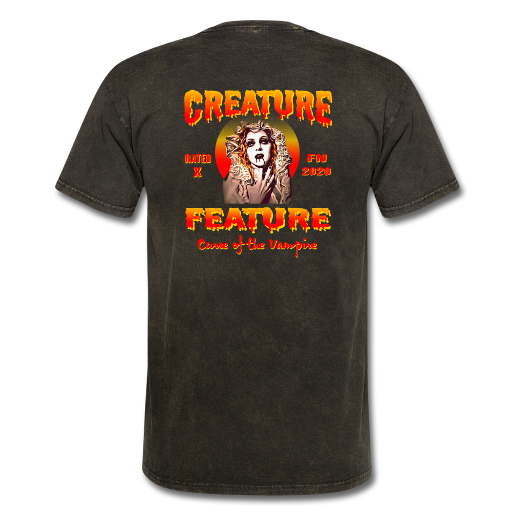 Creature Feature Show Curse of the Vampire - mineral black