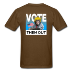 Shut Up and Vote - brown