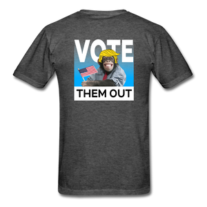 Shut Up and Vote - heather black
