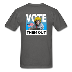 Shut Up and Vote - charcoal