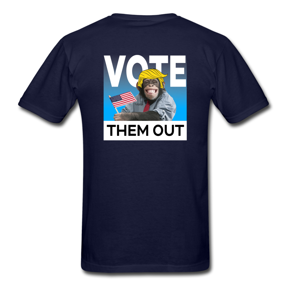 Shut Up and Vote - navy
