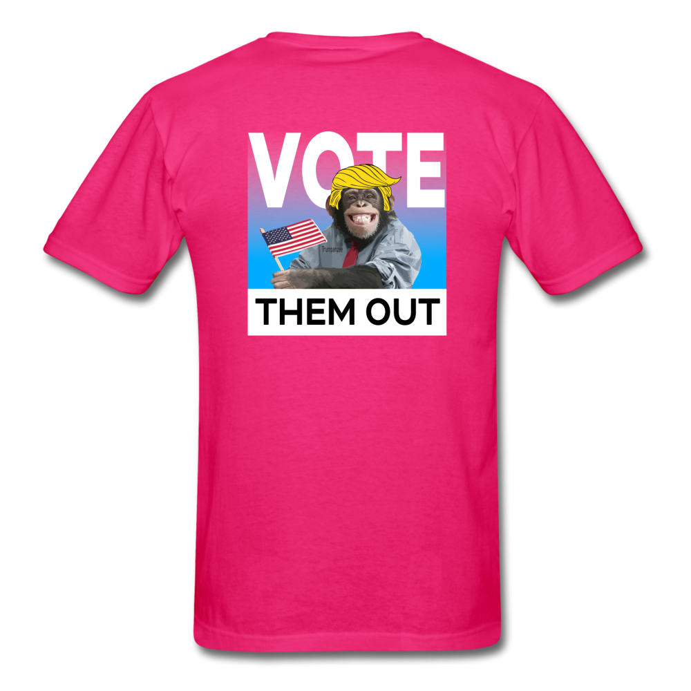 Shut Up and Vote - fuchsia