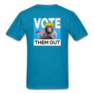 Shut Up and Vote - turquoise